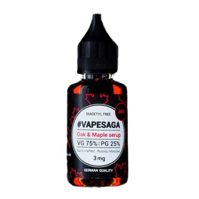 Жидкость Vapesaga Oak&Maple syrup