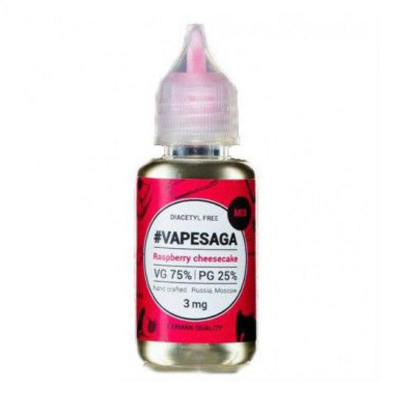Жидкость Vapesaga Raspberry cheesecake