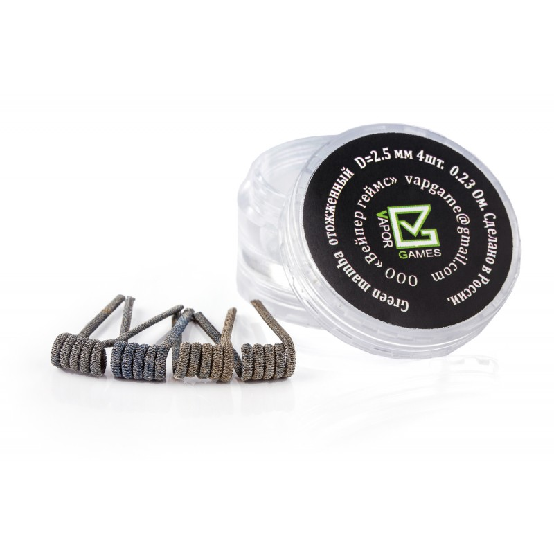 GREEN MAMBA COIL, 4 шт.