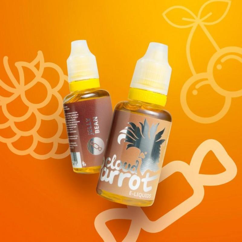 Жидкость для электронных сигарет Cloud Parrot Jelly Bean, 30 мл