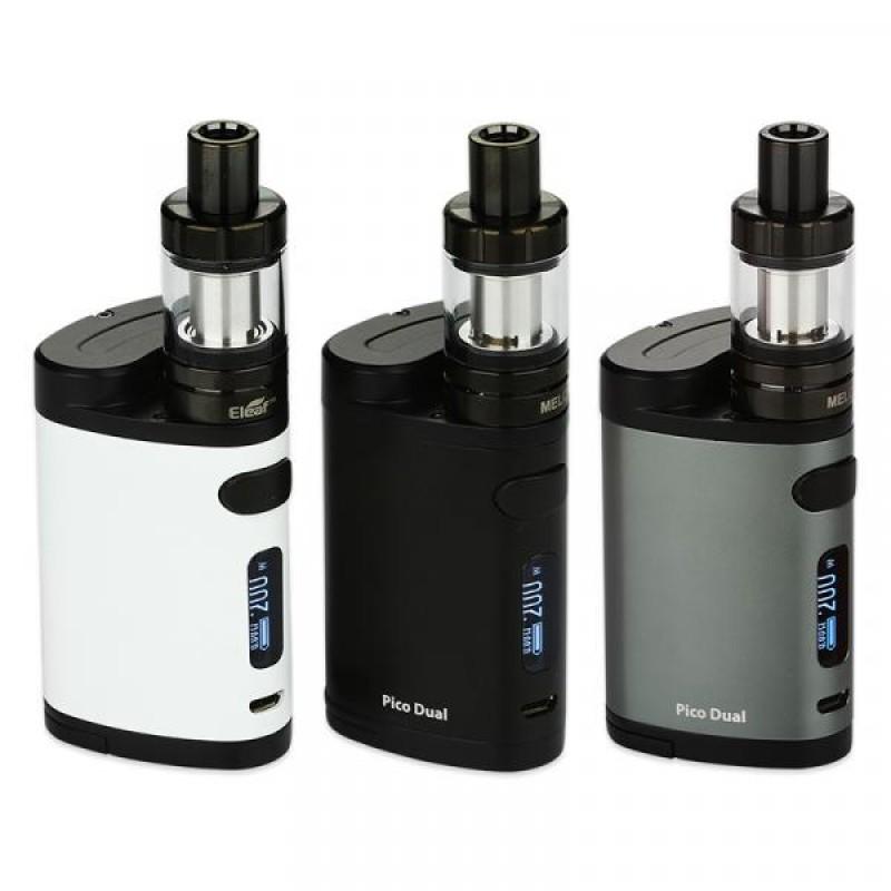 Набор Eleaf Pico Dual 200W + атомайзер MELO 3 Mini