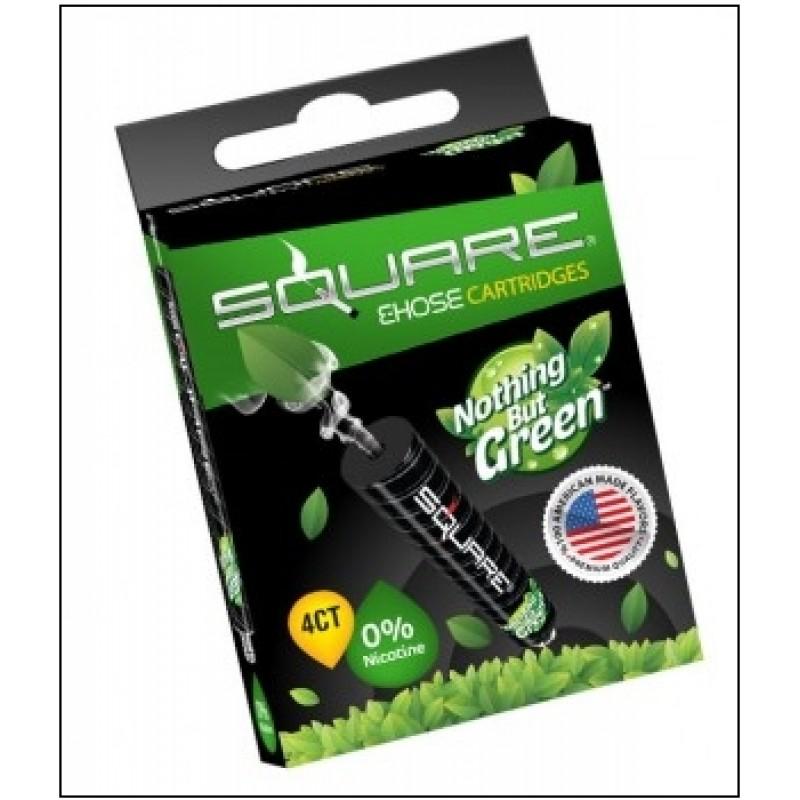 Картриджи для электронного кальяна – Square Nothing but green  (Оригинал США)