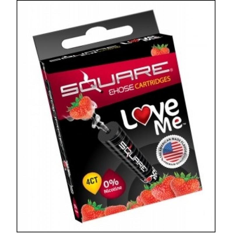 Картриджи для электронного кальяна – Square Love me (Оригинал США)