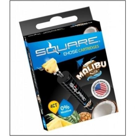 Square Malibu silk