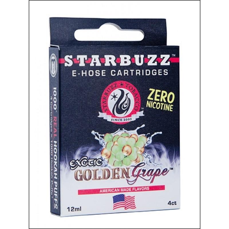 Картриджи для электронного кальяна – Starbuzz Golden Grape (Оригинал США)