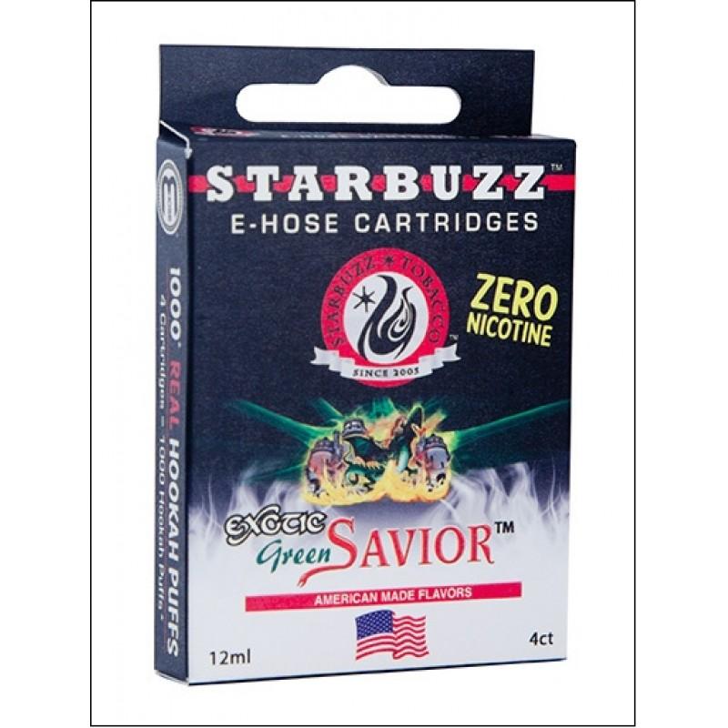 Картриджи для электронного кальяна – Starbuzz Green savior  (Оригинал США)