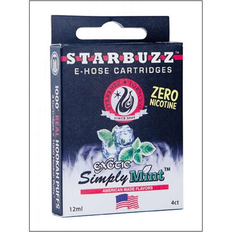 Картриджи для электронного кальяна – Starbuzz Simply mint (Оригинал США)