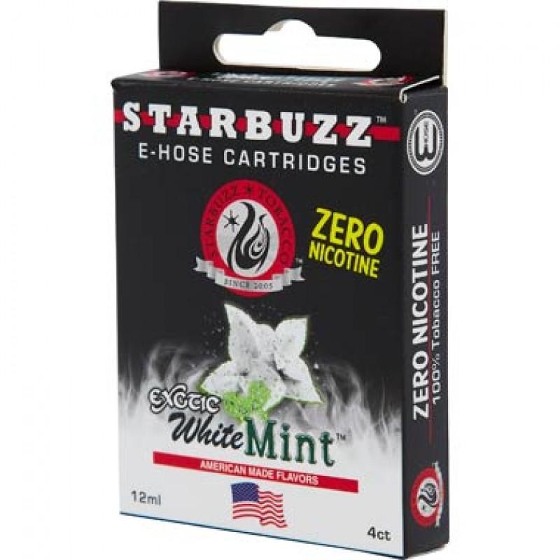 Картриджи для электронного кальяна – Starbuzz White mint (Оригинал США)