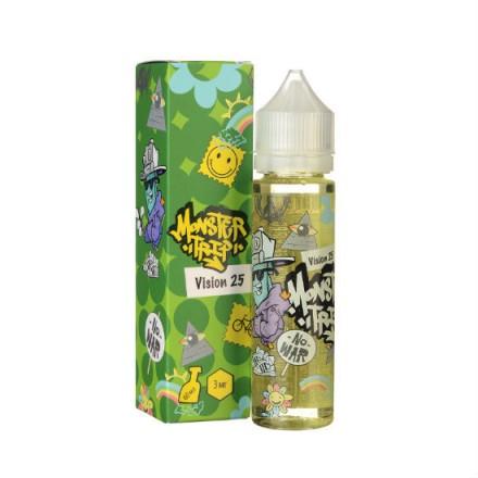 Жидкость Monster Trip Vision 25, 60 мл.
