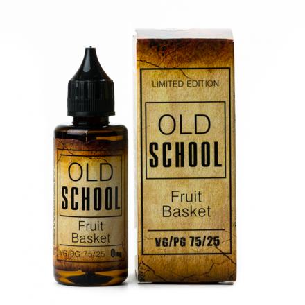 Жидкость OLD SCHOOL Fruit Basket, 50 мл.