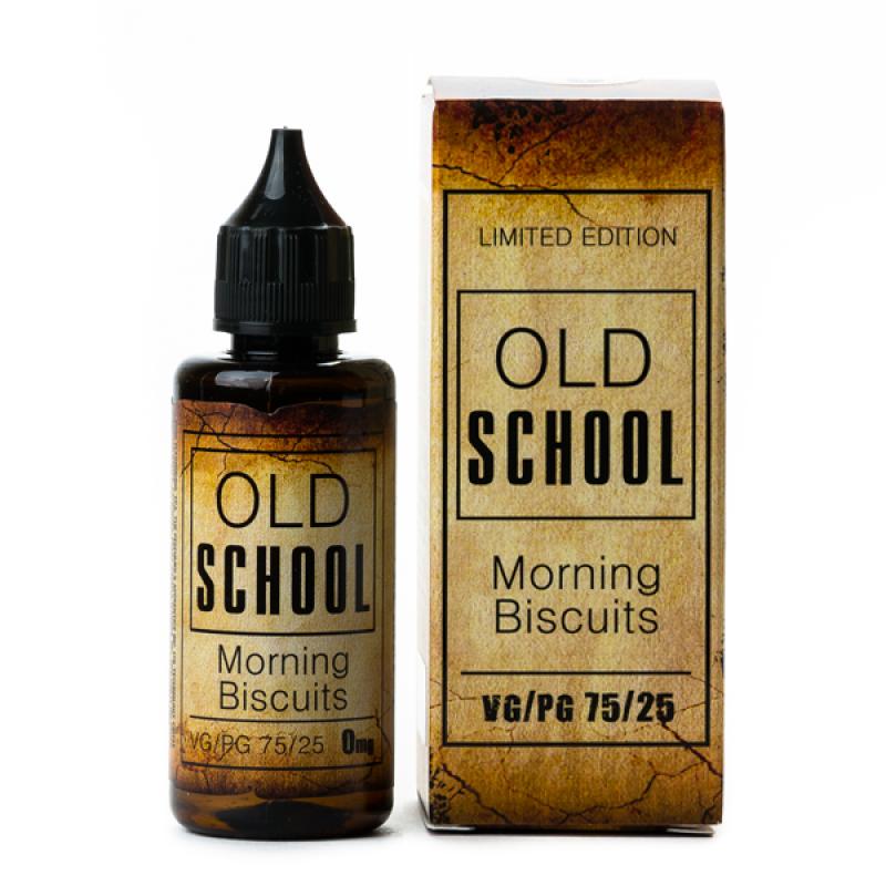 Жидкость OLD SCHOOL Morning Biscuits, 50 мл.