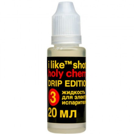 Жидкость I like  shot drip  Holy cherry, 20 мл