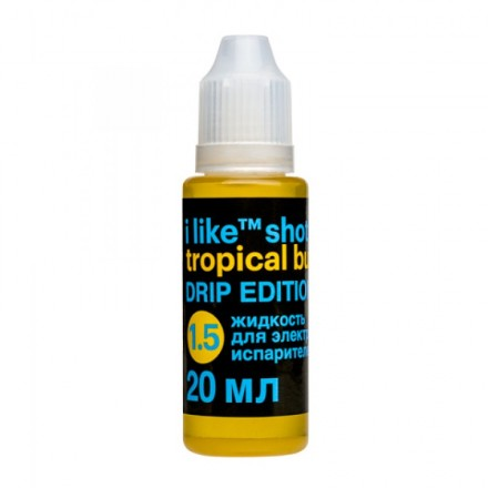 Жидкость I like  shot drip  Tropical buzz, 20 мл