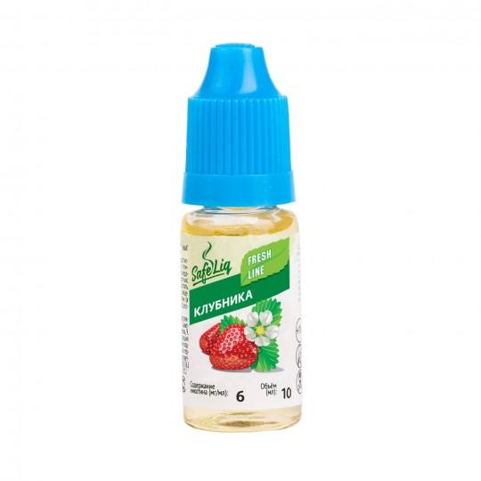 Жидкость для электронных сигарет Safeliq Клубника, 10 мл.