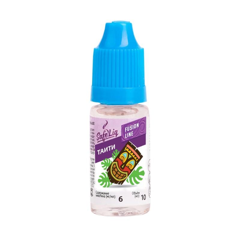 Жидкость для электронных сигарет Safeliq Таити, 10 мл.