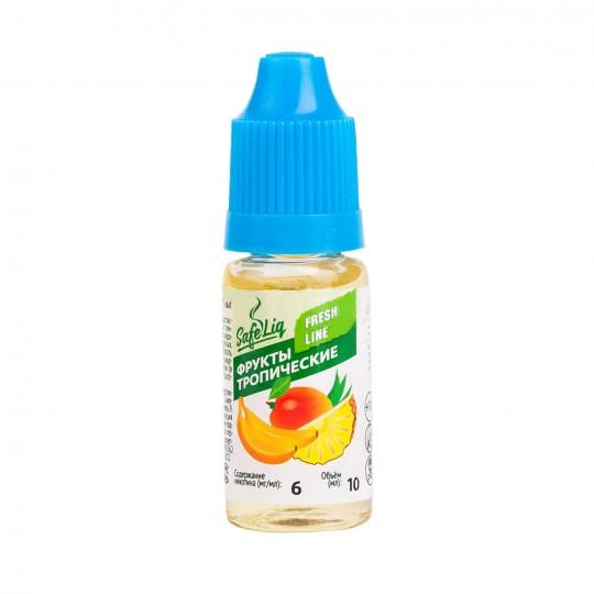 Жидкость для электронных сигарет Safeliq Тропический фрукт, 10 мл.