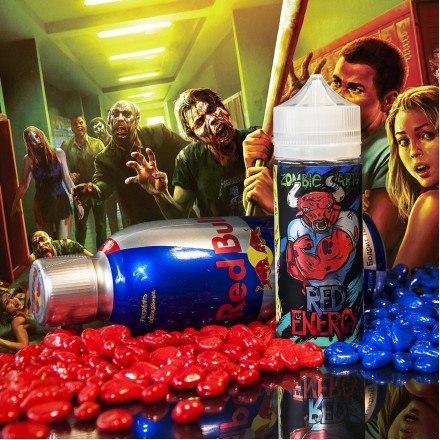 Жидкость Zombie Party Red Energy, 120 мл.